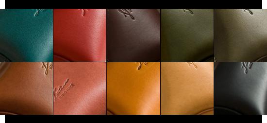 メインの革は画像の10色から選ぶ